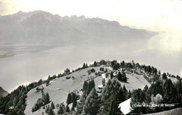 Caux et les Alpes de Savoie Vorderseite