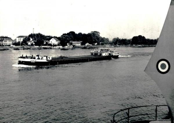 Passagier-Güterschiff Axalp Vorderseite