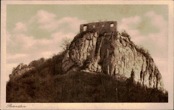 Burg Rosenstein Vorderseite