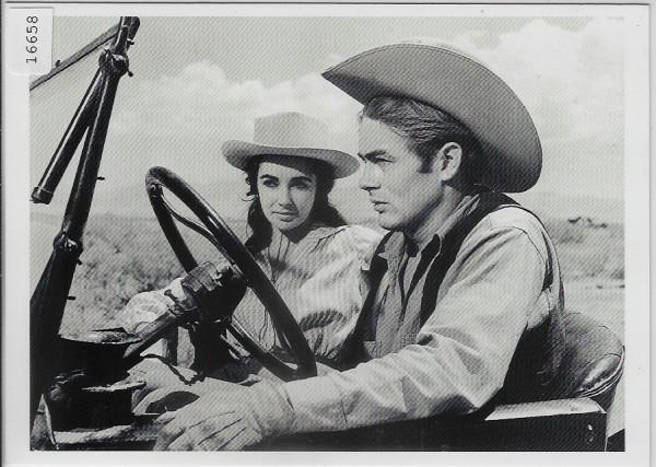 James Dean & Elizabeth Taylor - Giant 1956