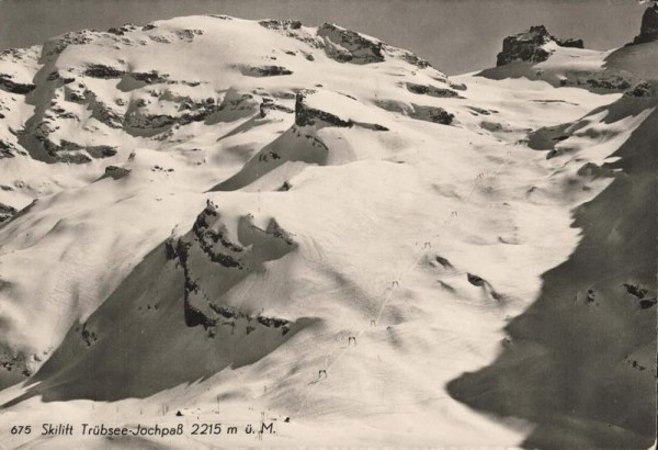 Skilift Trübsee-Jochpass Vorderseite