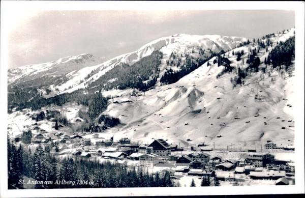St. Anton am Arlberg Vorderseite