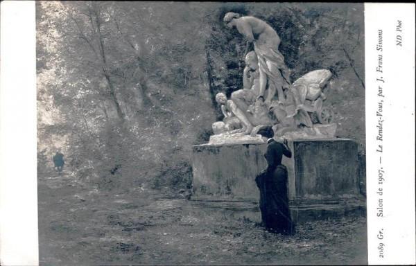 Le Rendez-bous, J. Frans Simons Vorderseite