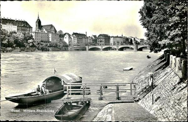 Basel/Mittlere Rheinbrücke Vorderseite