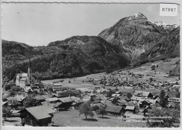 Lugern mit Obersee und Wilerhorn