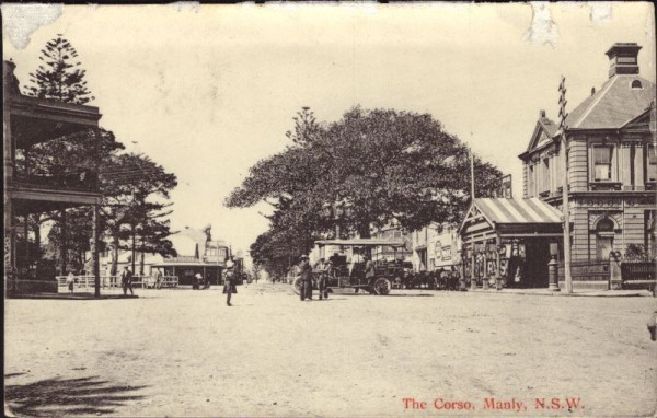 Manly, the Corso, N.S.W