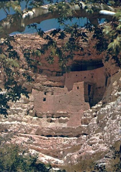 Montezuma Castle. National Monument. Camp Verde, Arizona Vorderseite