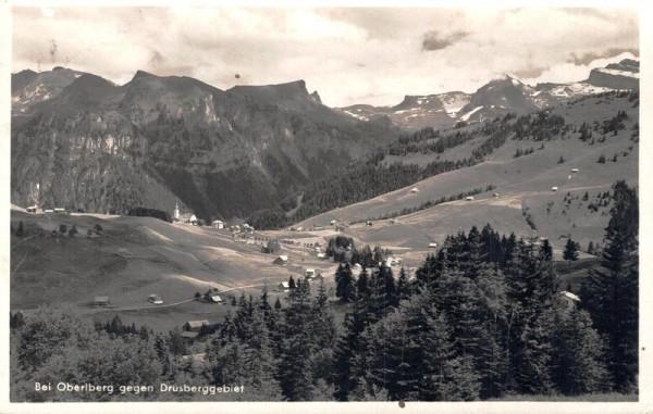 Bei Oberiberg gegen Drusberggebiet Vorderseite
