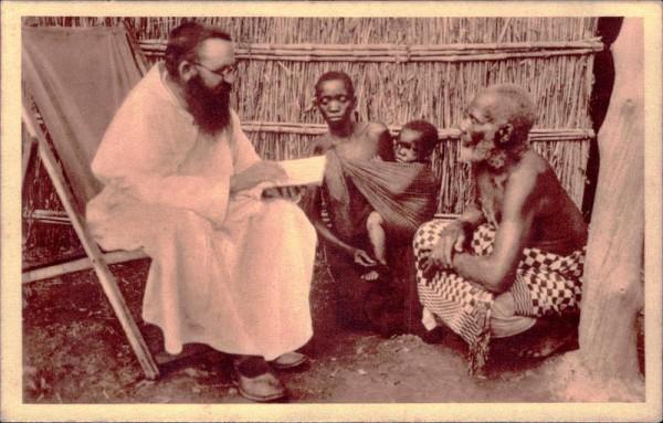 Mission der Schweizer Kapuziner in Afrika, Katechese auf Reisen Vorderseite
