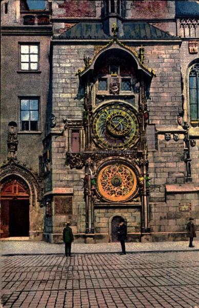 Astronomische Uhr, Prag
