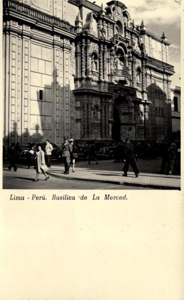 Lima, Basilica de la Merced Vorderseite