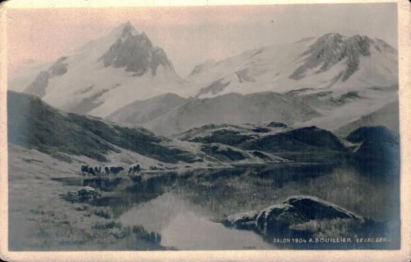 "Salon 1904 A. Bouillier ""Le Lac Lerie"" Vorderseite"