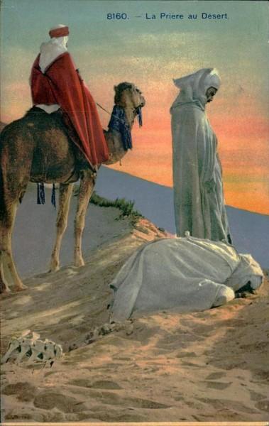La Prière au Désert Vorderseite
