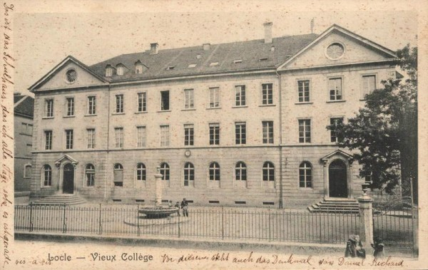 Le Locle. Vieux Collège Vorderseite
