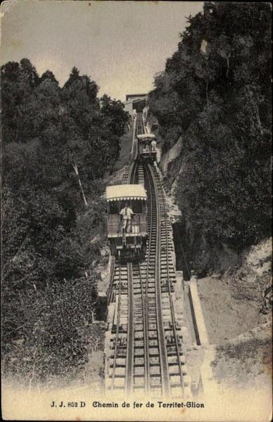 chemin de fer Territet-Glion Vorderseite