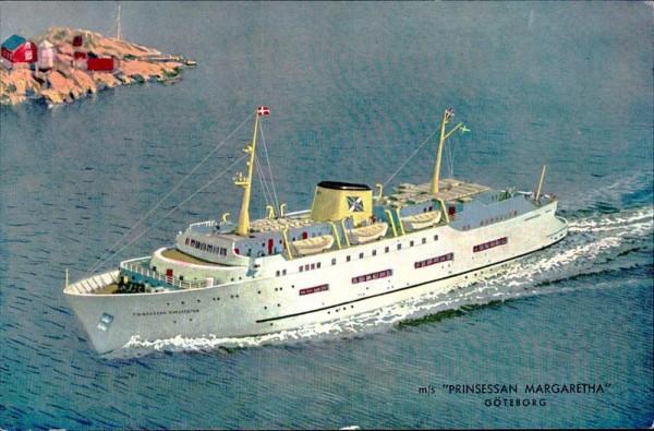 Prinzessan Margaretha, Göteborg Vorderseite
