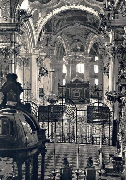 Einsiedeln, Stiftskirche  Vorderseite