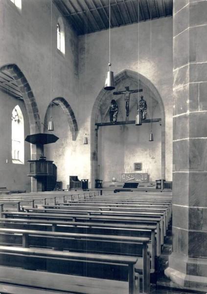 Christ (alt) kathol. Augustinerkirche Zürich, Erbaut 1275, Restauriert 1959 Vorderseite