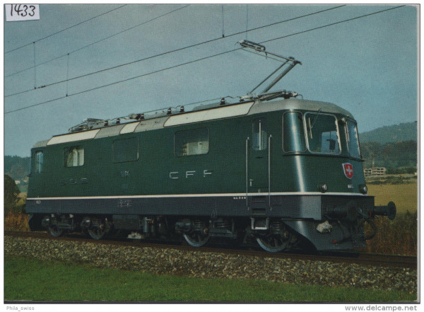 SBB - CFF - Mehrzwecklokomotive/Locomotive pour service mixte - Re 4/4II 111526-57, 11162-248, 254-3