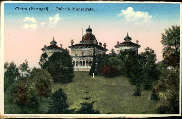 Monserrate Palace (Sintra) Vorderseite