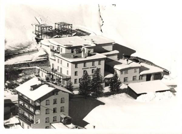 7270 Davos-Platz, altes Gasthaus Hotel Restaurant Brauerei Vorderseite