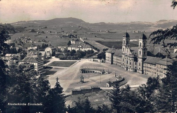 Klosterkirche Einsiedeln Vorderseite