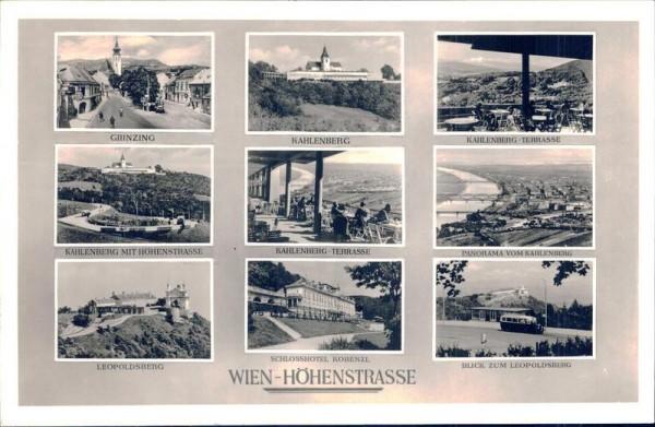 Wien-Höhenstrasse Vorderseite