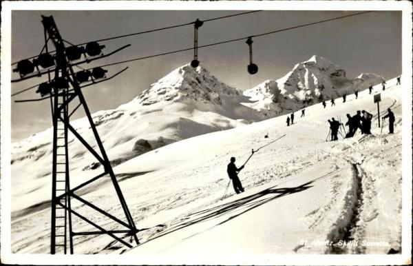 St. Moritz, Skilift Suvretta Vorderseite