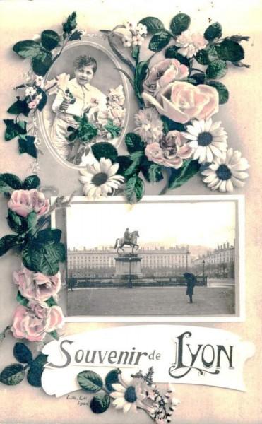Souvenir de Lyon Vorderseite