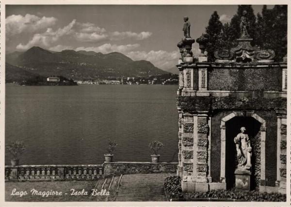 Lago Maggiore. Isola Bella Vorderseite