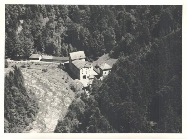 8824 Schönenberg ZH, Wasserkraftwerk Waldhalde, Waldhalden 2, Sihl Vorderseite