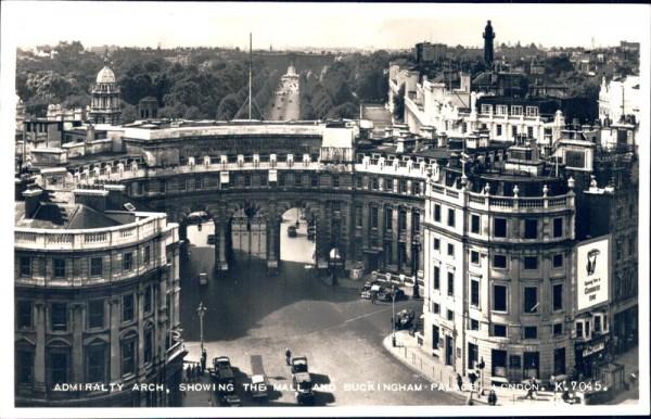 Admiralty Arch (London) Vorderseite