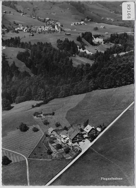 Flugaufnahme Töchterbund Ferienheim Heimetli Lutenwil-Nesslau - Flugbild Gross
