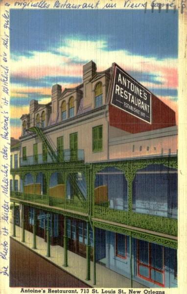 St. Louis, Antoine's Restaurant Vorderseite