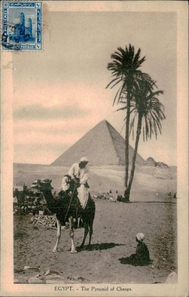 Egypt-The Pyeramid of Cheops Vorderseite