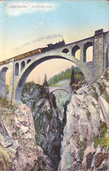 Albulabahn, Solisbrücke