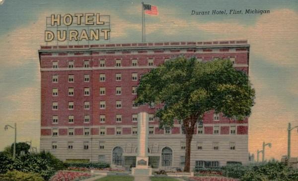 Flint Michigan, Durant Hotel Vorderseite