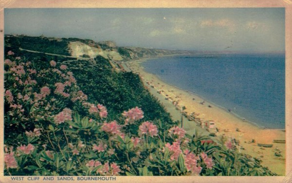 West Cliff and Sands, Bournemouth Vorderseite