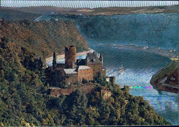 Burg Katz Vorderseite