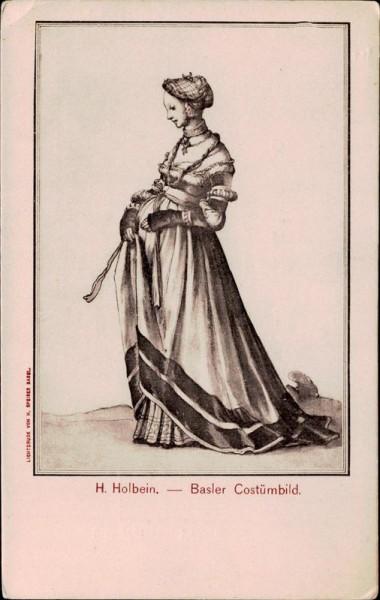 H. Holbein, Basler Costümbild Vorderseite