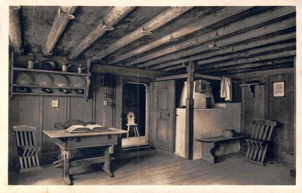Wildhaus, Geburtshaus Ulrich Zwingli Vorderseite