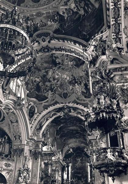 Stiftskirche Einsiedeln Vorderseite