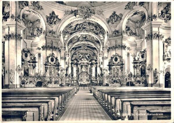 St. Gallen. Kathedrale Vorderseite