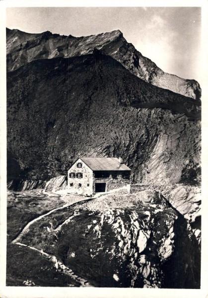 Elm. S.A.C. Cluphütte Martinmaad und Mittaghorn Vorderseite
