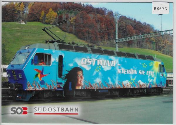 SOB Südostbahn - Lokomotive Re 456