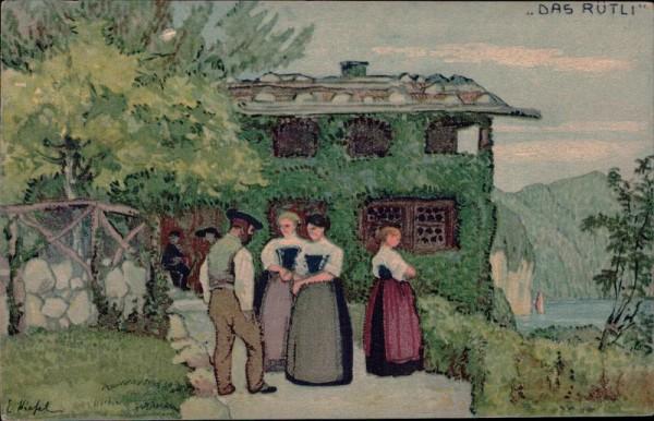 Rütli, Bundesfeier 1913 Vorderseite