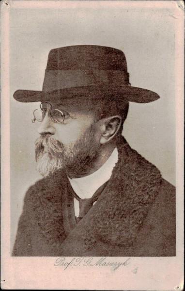 Prof. T. G. Masaryk Vorderseite