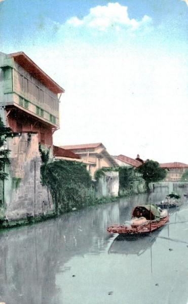Scene Along Pasing River Vorderseite