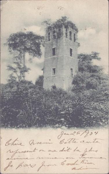 Turm in Kolumbien Vorderseite