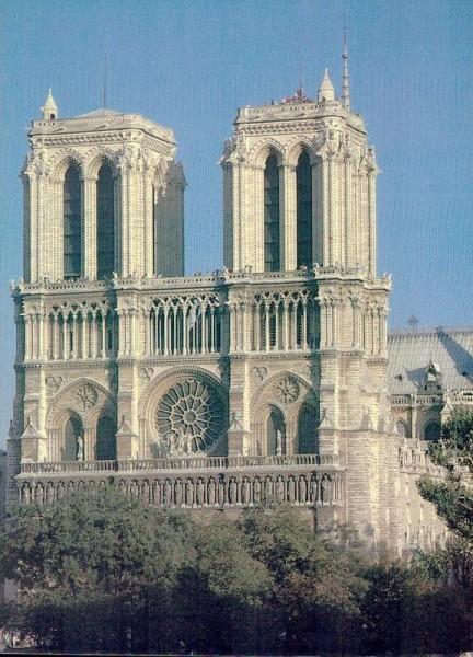 Cathédrale Notre-Dame de Paris Vorderseite